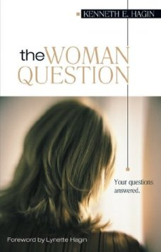 Book cover_The woman question by Kenneth Hagin