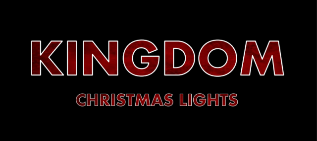 This image has an empty alt attribute; its file name is KingdomChristmasLightsbanner.png