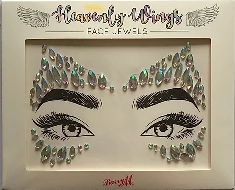 Barry M face jewels heavenly wings