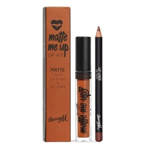 barry M matte me up lip kit so chic