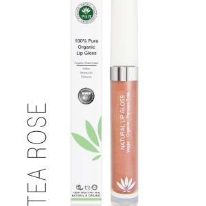 PHB Ethical Beauty lipgloss tea rose