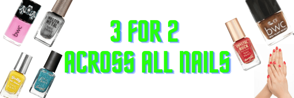 3 for 2 nails