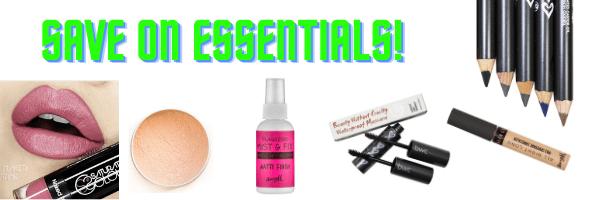 Website header- save on essentials