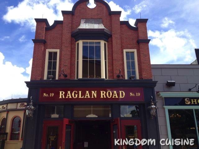 Raglan Road: Orange Pudding