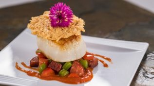 The Artist's Table: Pan-Seared Scallop