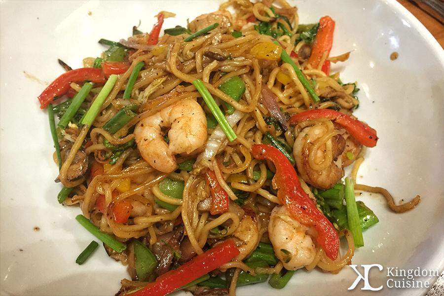 Kona Cafe Pan-Asian Noodles with Shrimp