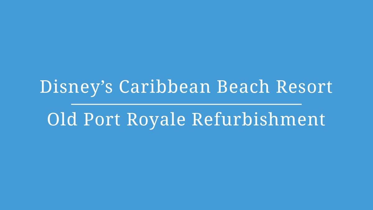 Disney's Caribbean Beach Resort Dining – Video