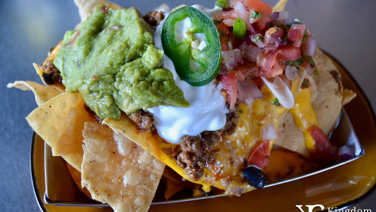 Jock's Loaded Nachos