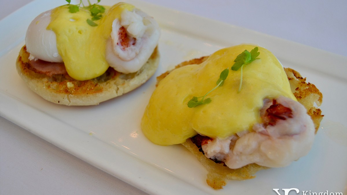 California Grill: Lobster Eggs Benedict