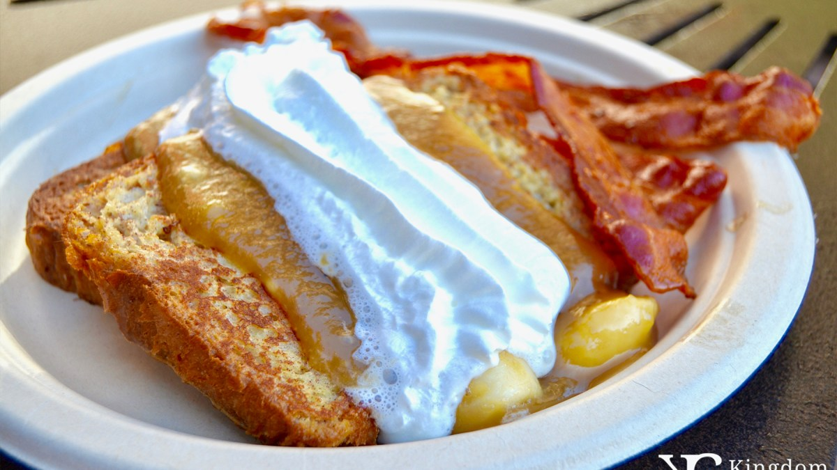 Banana Foster's French Toast