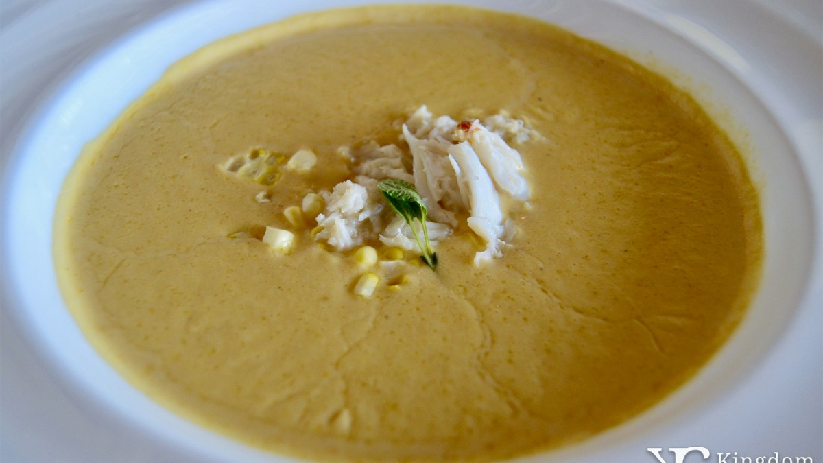 Brentwood Corn and Crab Soup