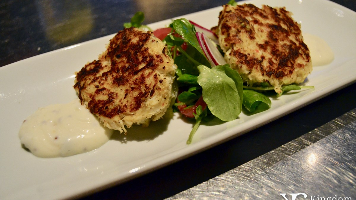 Coral Reef Crab Cakes