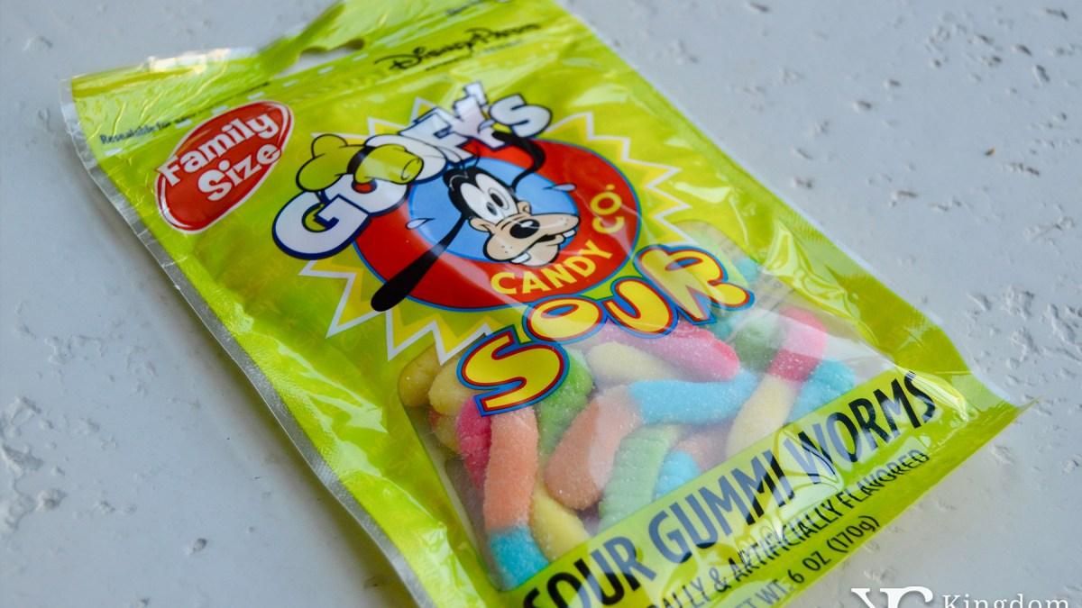 Goofy's Sour Gummi Worms