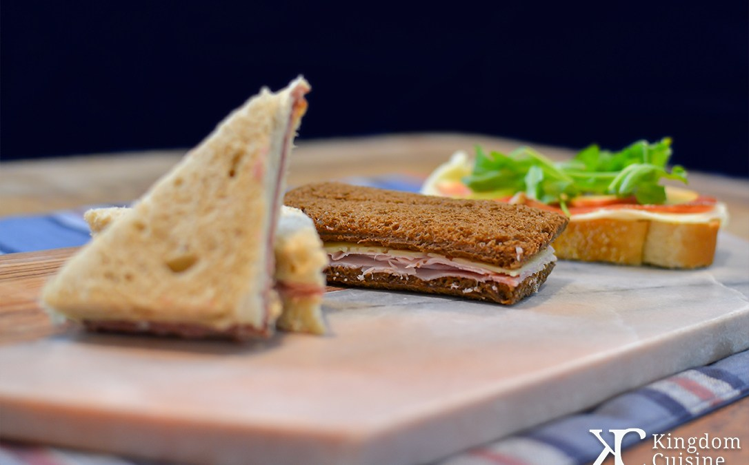 Practically Perfect Tea Sandwiches