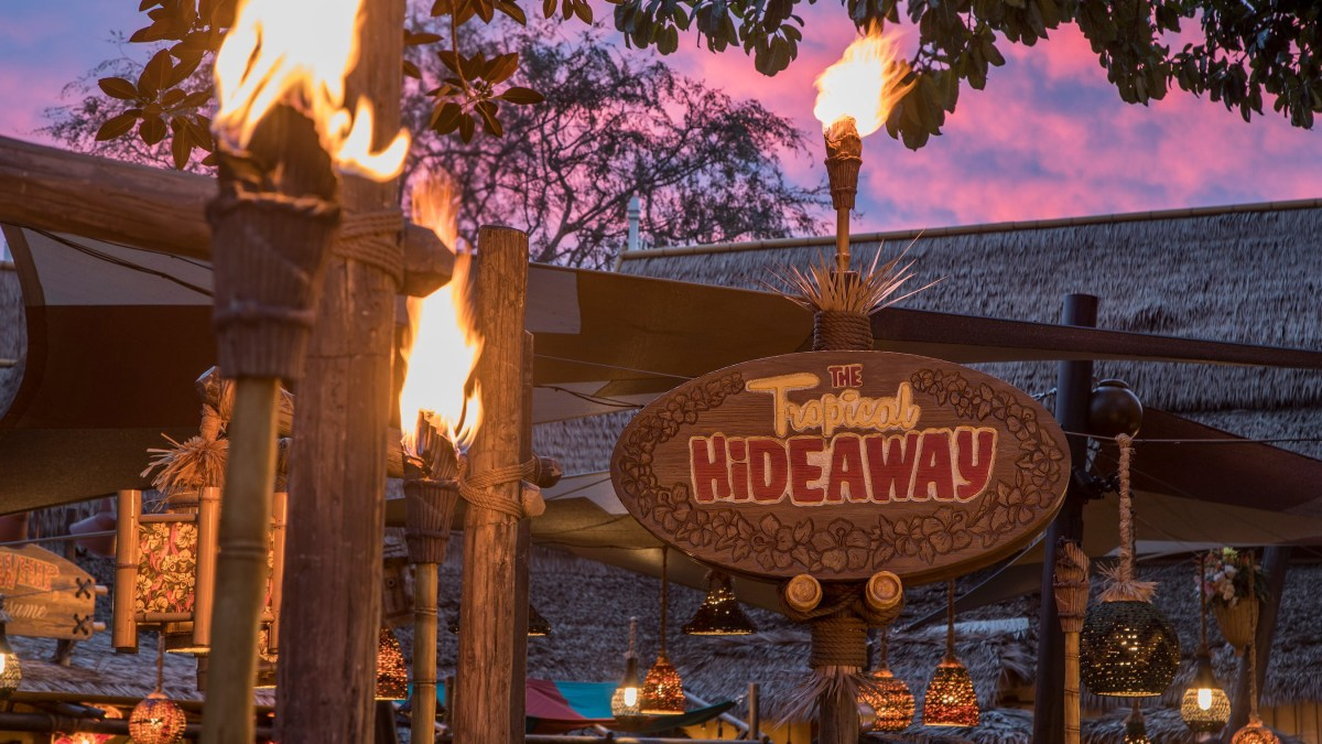 First Look at The Tropical Hideaway