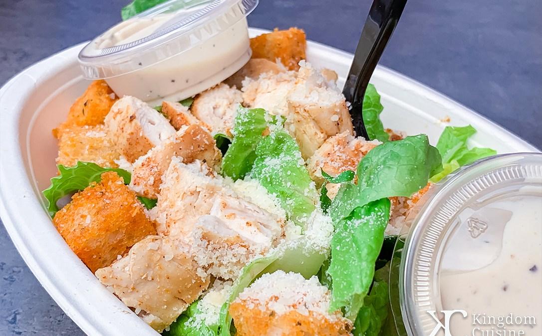Chopped Chicken Caesar Salad