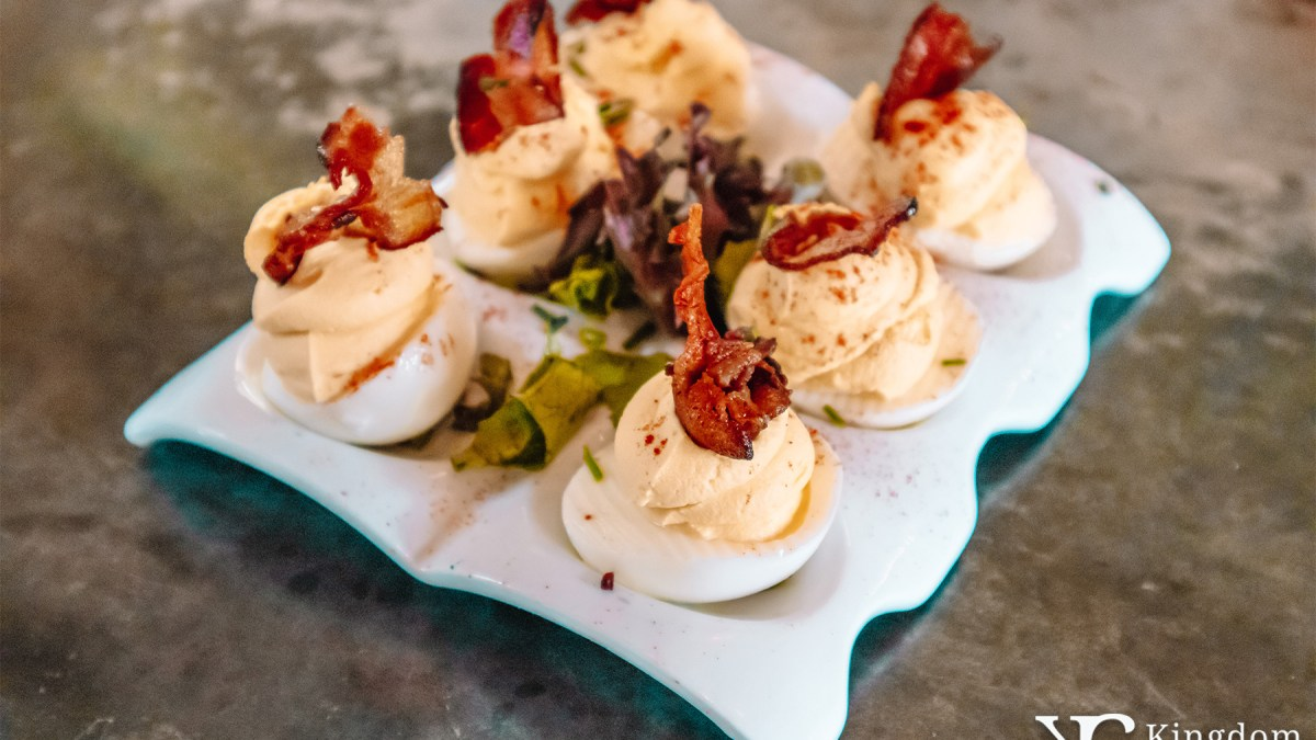 Church Lady Deviled Eggs