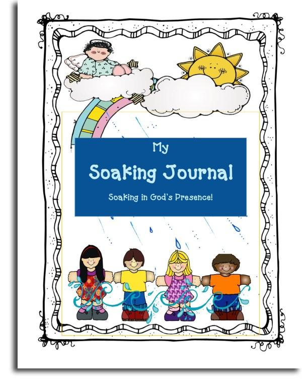 Soaking Journal for Younger Children Booklet Cover