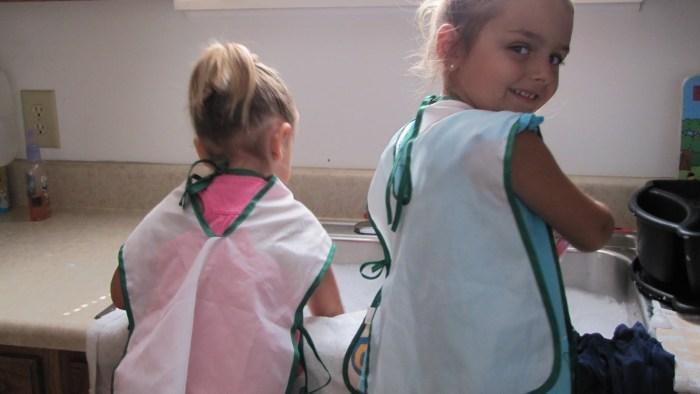 Sink Sensory Preschool Activity
