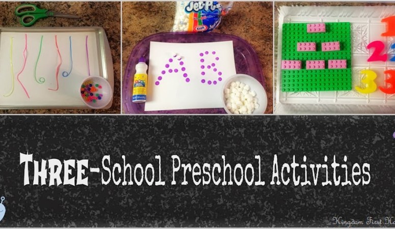 THREE-School Preschool Activities