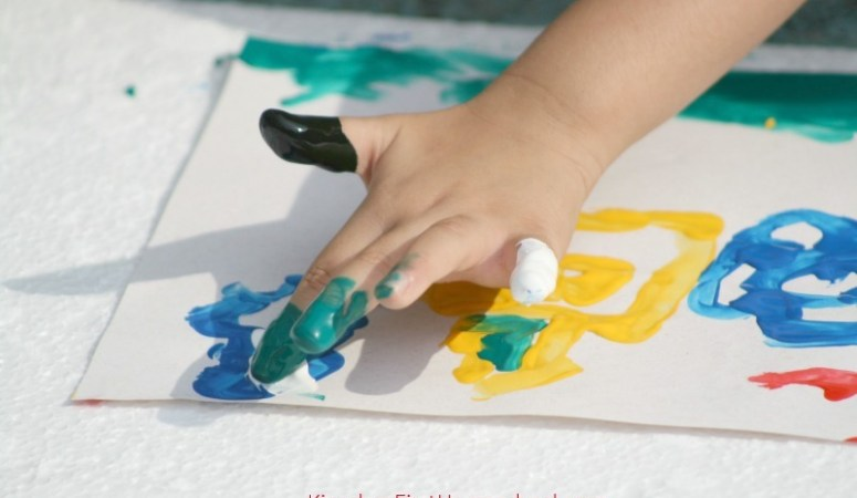Easy Finger Paint Recipe