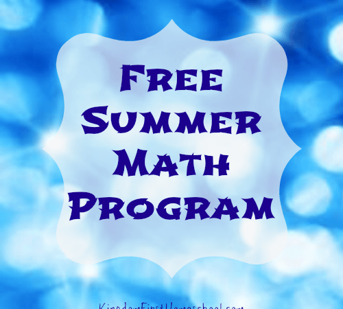 Free Math Program for the Summer