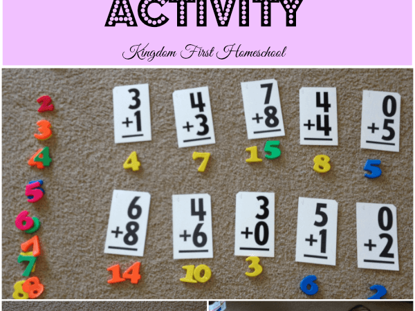 Hands on Addition Activity