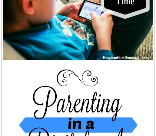Parenting in a Digital Age – Limiting Screen Time