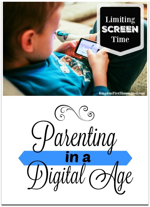 Parenting in a digital age can be frustrating and pretty tricky at times.  Constant worry about what your kids may be exposed to with one wrong click, battling them to listen whilst playing their games or limiting screen time, making sure they aren't spending too much time staring at a screen. {sigh}Here are some ways that may help you keep your kiddos balanced and limiting screen time.