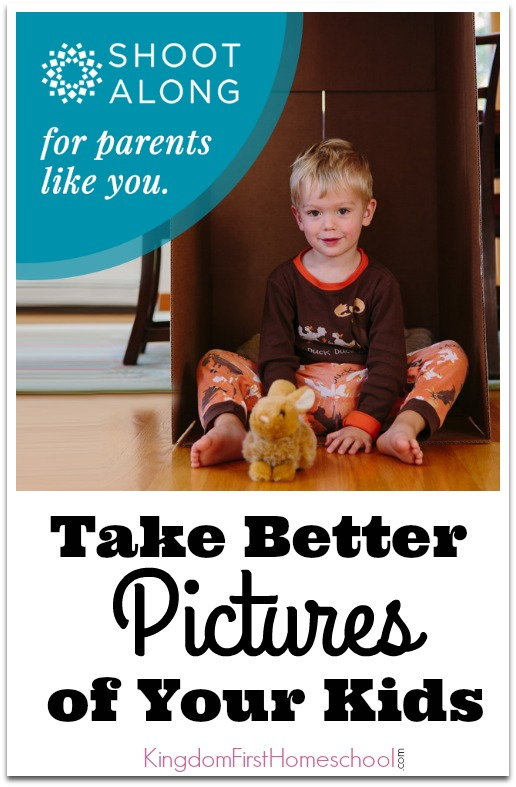 What would you give to have a year of your family's memories beautifully documented through photography? Learn to Take Better Pictures of Your Kids.