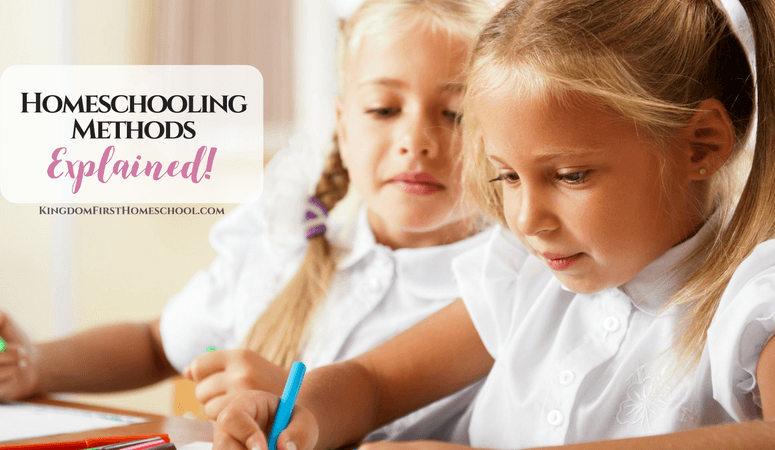 Homeschooling Methods Explained