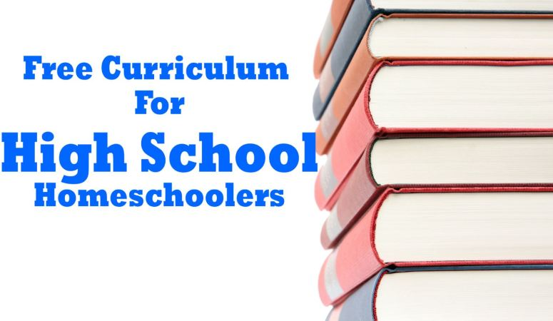 Free Curriculum for High School Homeschoolers