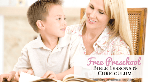 bible based preschool curriculum free curriculum for preschoolers 98678
