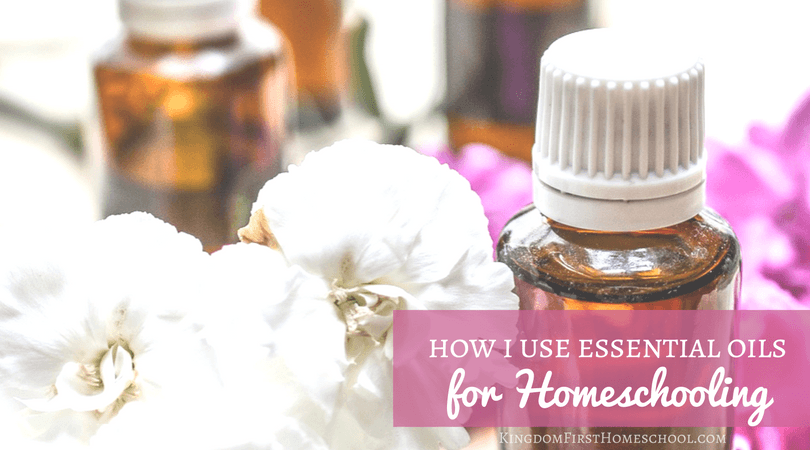 Check out this great list of essential oils for homeschooling.