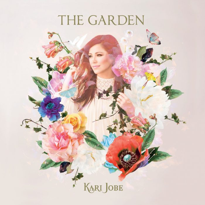 "Introducing the brand new album by Kari Jobe ""The Garden"""