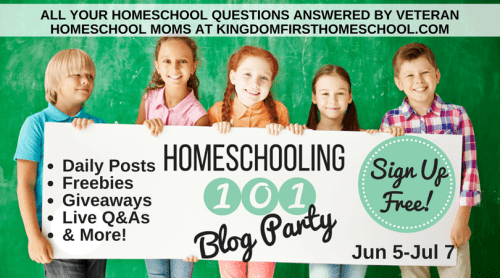 Homeschooling 101 Blog Party