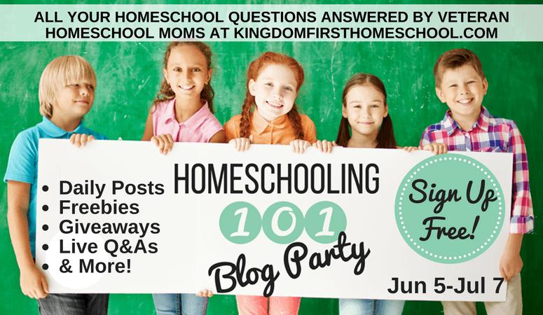 Homeschooling 101 Blog Party