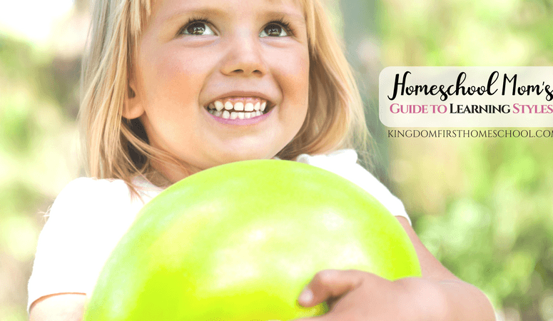 A Homeschool Mom's Guide to Learning Styles