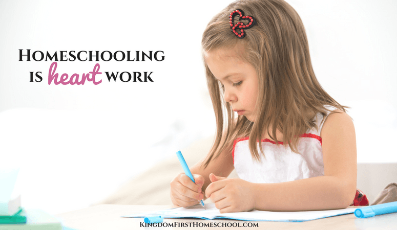 Homeschooling Is Heart Work