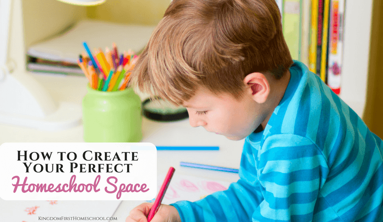 How to Create Your Perfect Homeschool Space