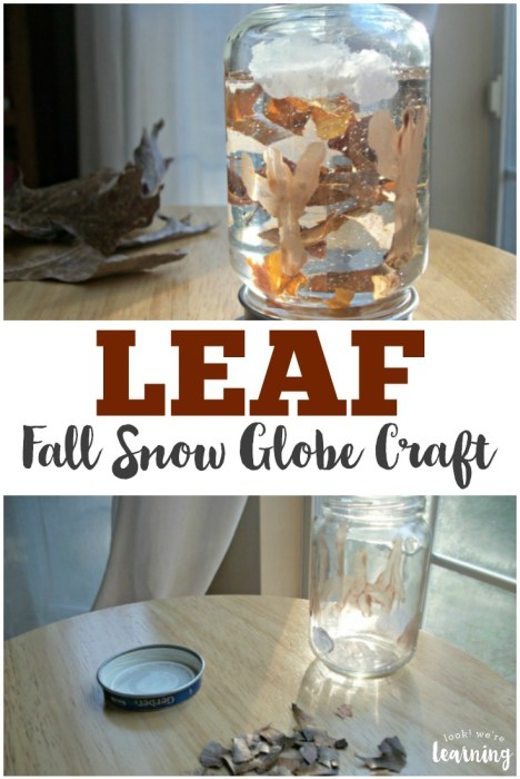 Leaf Fall Snow Globe Craft
