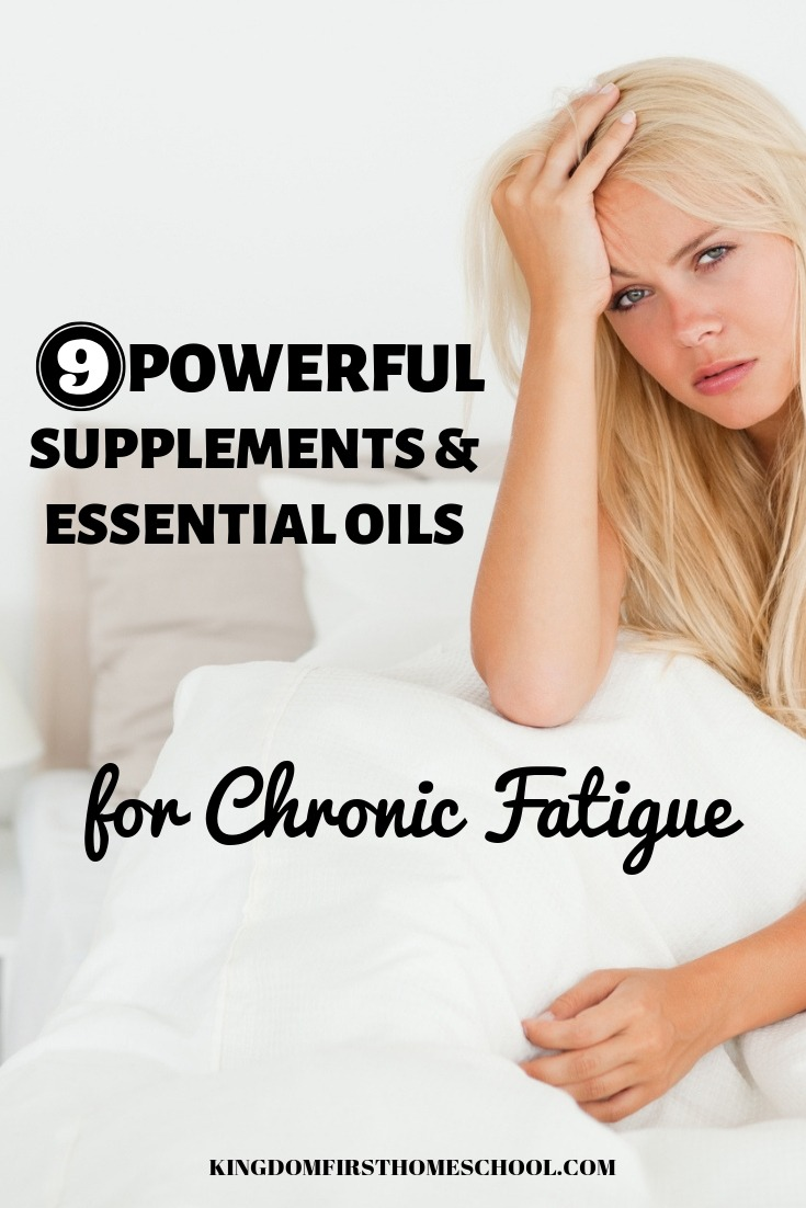 These 9 powerful supplements and essential oils are considered some of the most consistently effective treatments for the symptoms of chronic fatigue.