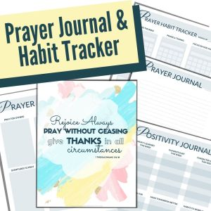 Prayer Journal and Habit Tracker for Kids
