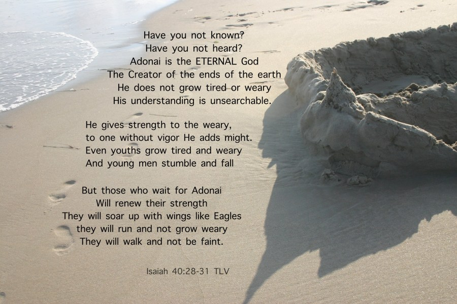 Isaiah 40:28-31 Our strength comes from a God who is ETERNAL!