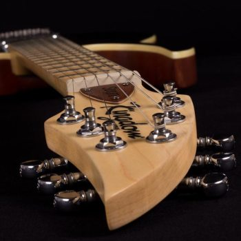 kingdom slvt electric guitar headstock