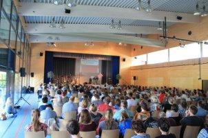 Konferenz in der Andelsbach-Halle