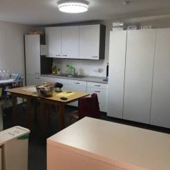 Die neue Saal-Küche
