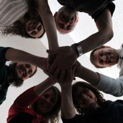 Wir sind ein Team!
