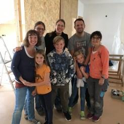 Renovierung für das neue Familien-Department