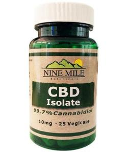CBD Isolate 10MG Capsules
